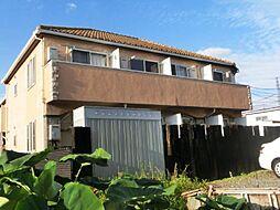 埼玉県さいたま市西区大字土屋の賃貸アパートの外観
