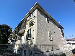 千葉県八街市東吉田の賃貸アパートの外観