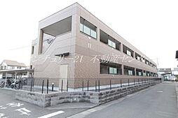 岡山県岡山市北区今保の賃貸マンションの外観