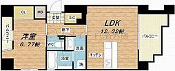 SHUNKI江戸堀[6階]の間取り