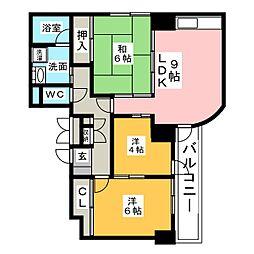 ANSWER21[5階]の間取り