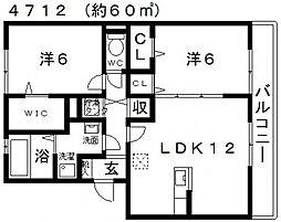 キッズコーレ[103号室号室]の間取り