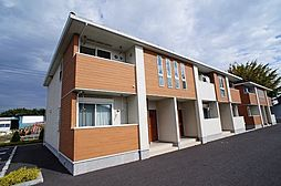 群馬県前橋市富士見町時沢の賃貸アパートの外観
