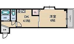 メゾンリュート[1階]の間取り