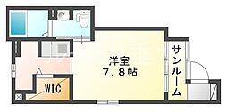 兵庫県神戸市垂水区川原4丁目の賃貸アパートの間取り