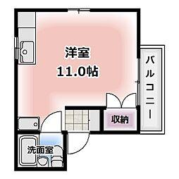 愛知県清須市助七2の賃貸マンションの間取り
