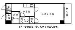 ファミーユ對重--[206号室]の間取り