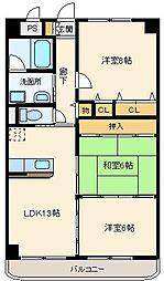 カームライフ斎藤[507号室]の外観