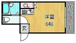 Mebius Kouri Residence - メビウスコ[1階]の間取り