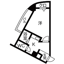 原ビル[2階]の間取り
