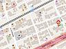 地図,1DK,面積28.45m2,賃料4.4万円,阪神本線 深江駅 徒歩6分,JR東海道・山陽本線 甲南山手駅 徒歩13分,兵庫県神戸市東灘区深江本町3丁目1-30