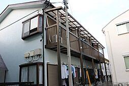 AQUAアパート堀之内[2階]の外観