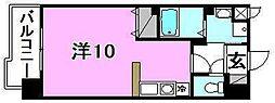 メゾンドール錦町[402 号室号室]の間取り