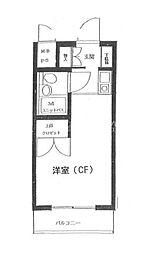 横浜南プラザ[4階]の間取り
