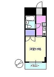 SEA茅ヶ崎ビル[5階]の間取り