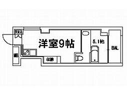 Boulogne Kamogawa[4階]の間取り