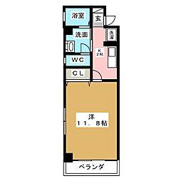エスポワール東別院[11階]の間取り