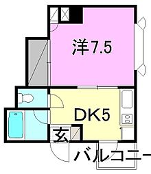 富士清水ハイツ[203 号室号室]の間取り