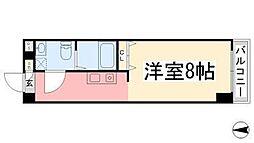カローラ東雲[606号室]の間取り