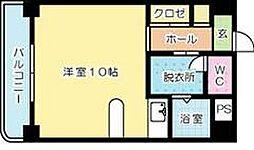小倉ハイツ[602号室]の間取り