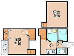 クレオ筥松参番館[2階]の間取り