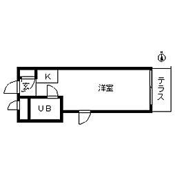 TOP・新宿第2[0211号室]の間取り