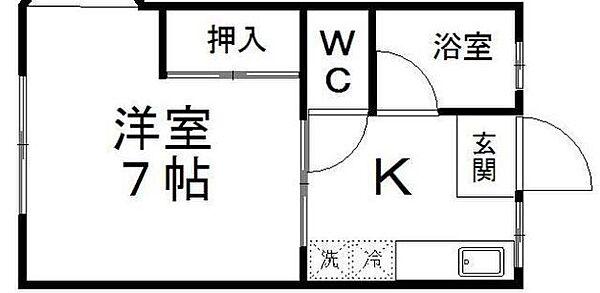 シティハイム東花I[203号室]の外観