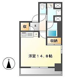 プライムメゾン東桜[9階]の間取り