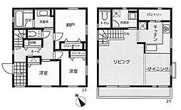 [一戸建] 東京都杉並区和泉3丁目 の賃貸【/】の間取り