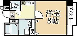 レジデンス21[3階]の間取り