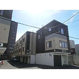 [タウンハウス] 北海道札幌市中央区南十条西12丁目 の賃貸【/】の外観