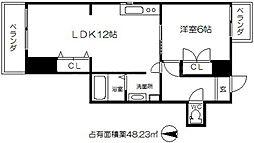 ライフステージヨシダ[8階]の間取り