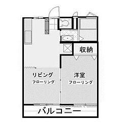 アゼリアハイツ[2階]の間取り