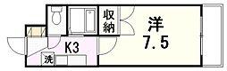 センチュリー曙II[2階]の間取り