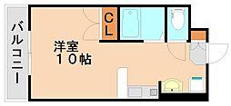 エステートプラザⅢ[3階]の間取り