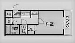 ステラハウス15[102号室]の間取り
