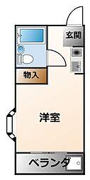 ロイヤルスポット・ミツワ[3階]の間取り