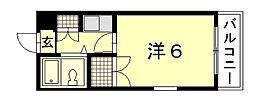 Calm西川口町[2階]の間取り
