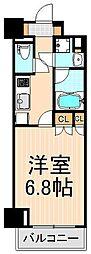 コンフォリア浅草橋[1205号室]の間取り