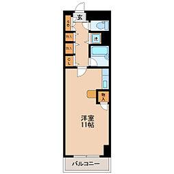 エスペランス日泉ビル[4階]の間取り
