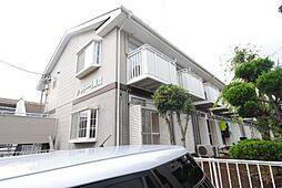 埼玉県越谷市大字西方の賃貸アパートの外観