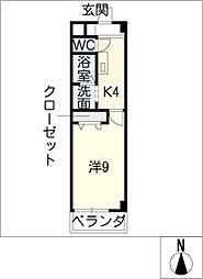 Printemps[4階]の間取り