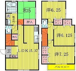 [一戸建] 千葉県柏市弥生町 の賃貸【/】の間取り