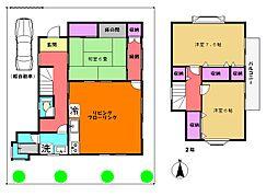 [一戸建] 神奈川県横浜市都筑区大棚町 の賃貸【/】の間取り