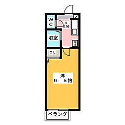 アメニティー泉[1階]の間取り