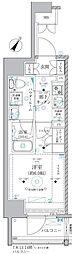 JR東海道本線 川崎駅 徒歩8分の賃貸マンション 3階1Kの間取り