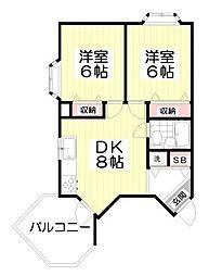 10386[2階]の間取り