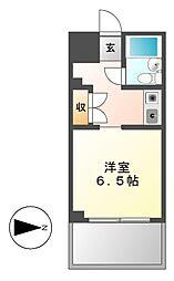 ユース白壁[1階]の間取り