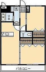 (新築)神宮外苑 西棟[1005号室]の間取り