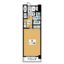 CASSIA錦本町通[11階]の間取り